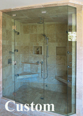 Leucadia Glass Products Shower Enclosures